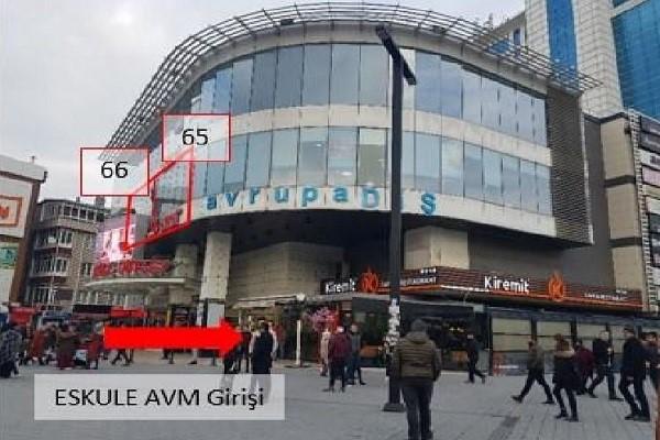 İSTANBUL ESENYURTTA 111 M2 İŞYERİ